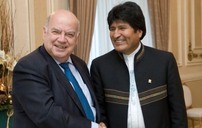 Canciller interino en Bolivia afirma que existen algunas autoridades chilenas
