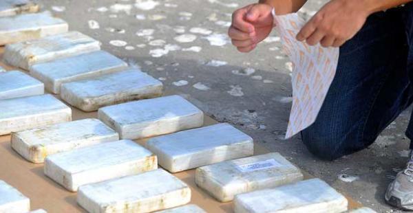 La droga incautada estaba valorizada en 6,64 millones de dólares