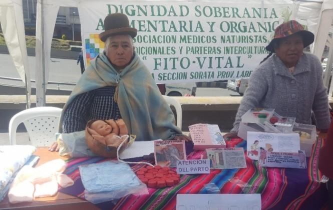 En Bolivia, todavía un tercio de las madres prefiere que parteras atiendan el nacimiento de sus hijos