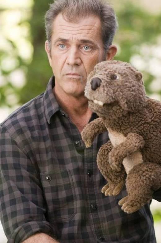 """Gibson en el filme """"The Beaver""""."""