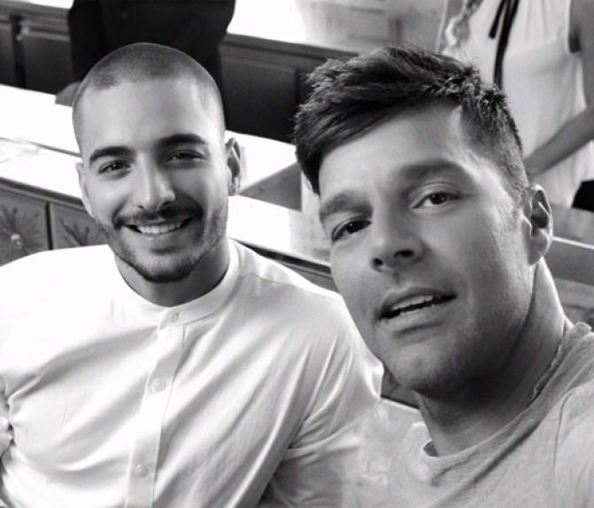 Ricky Martin - Ricky Martin con Maluma