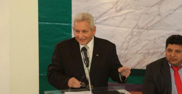El gobernador Rubén Costas habló del pacto fiscal y de los logros en su gestión en el acto de honor