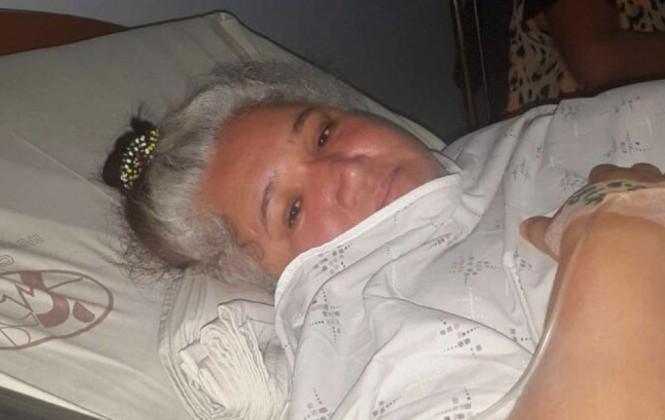 Ana Luisa Reis dice que está bien y que su auto no sufrió un vuelco