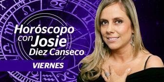 Josie Diez Canseco. Horóscopo del viernes 30 de septiembre de 2016