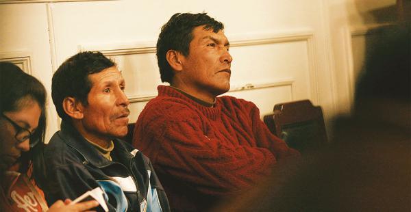 Los mineros acudieron ayer a la audiencia y renunciaron a presentar un recurso de acción de libertad