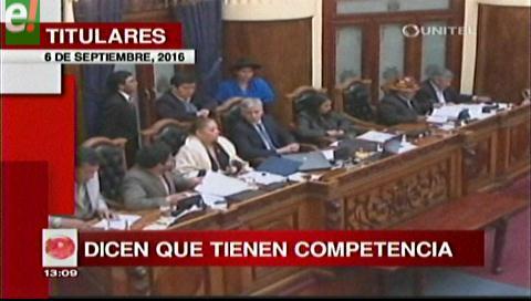 Titulares de TV: Diputados de oficialismo y oposición coinciden en que sí pueden fiscalizar la gestión de los alcaldes