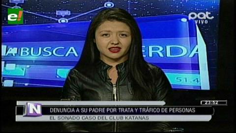 Hija del propietario de Katanas ratifica denuncia contra su padre