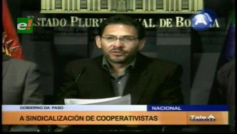 Gobierno incorpora a asalariados de las cooperativas mineras a la Ley General de Trabajo