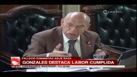 Políticos lamentan muerte de Andrés Solíz y destacan su constante labor