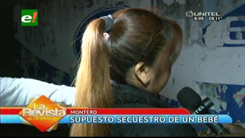 Denuncian supuesto secuestro de una bebé en un hospital de Montero