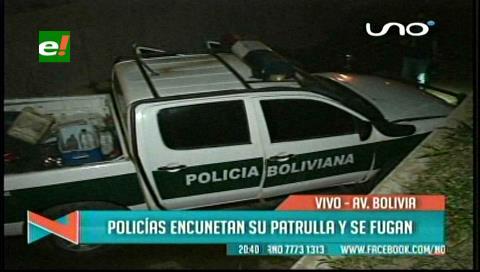 Patrulla con policías en supuesto estado de ebriedad caen a un canal