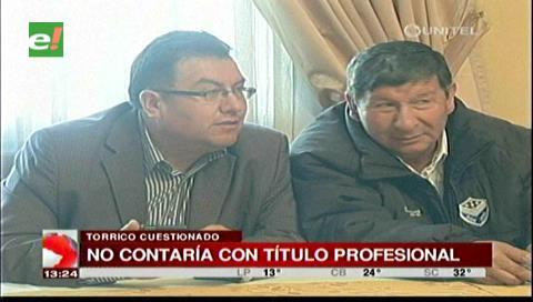 La Paz: La UMSA se querella contra el secretario de la FBF Wálter Torrico