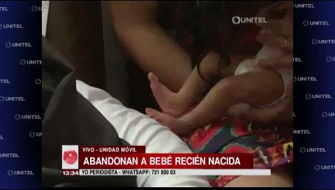 Abandonan a bebé de cuatro días de nacida en puertas de las Aldeas Padre Alfredo