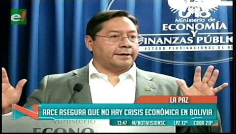 """""""La economía boliviana no atraviesa ninguna crisis"""""""
