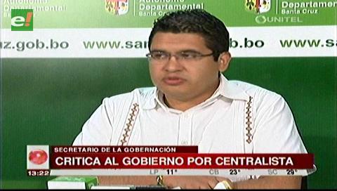 Peña critica afirmaciones de Morales sobre los recursos de las gobernaciones