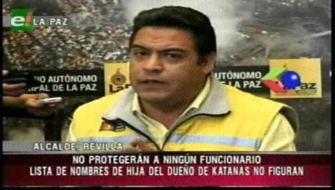 Revilla: Alcaldía no protegerá a ningún involucrado con el caso Katanas