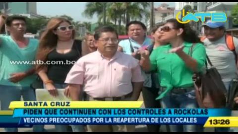 Santa Cruz: Vecinos exigen a la Alcaldía estricto control a locales nocturnos