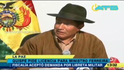Oficializan demanda contra Ferreira por falsificación de libreta militar
