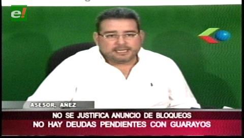 Gobernación cruceña convoca al diálogo al municipio de Guarayos