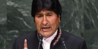 Confesiones de Evo Morales en la ONU