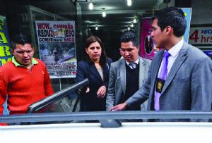 Un fiscal y un abogado caen por consorcio con el exfiscal Quispe