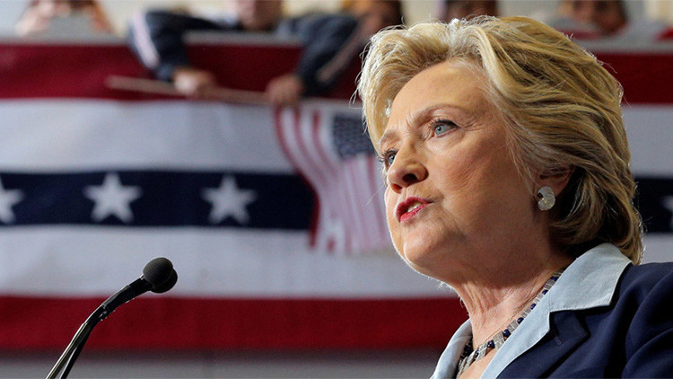 Filtran discursos de Hillary: