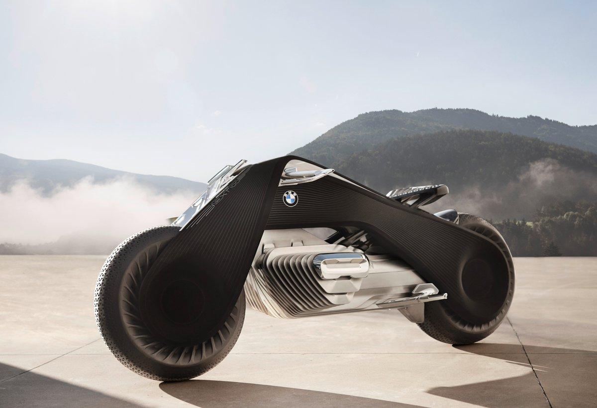 La moto del futuro según BMW