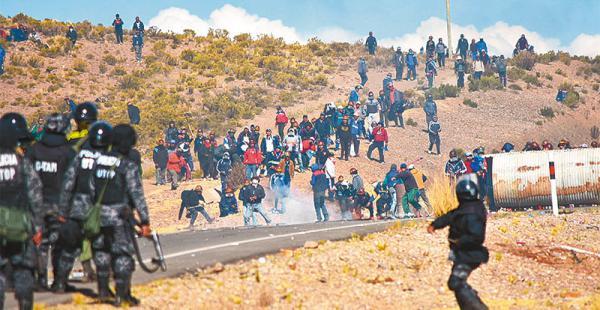 principios cooperativos la ajam y comibol son los encargados de controlar su cumplimiento Los mineros del país y la Policía tuvieron duros enfrentamientos en semanas pasadas