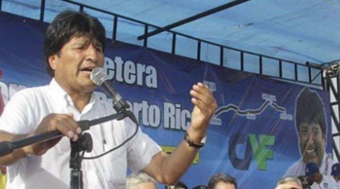 Evo: con una salida al mar PIB boliviano crecería 7,7 por ciento
