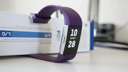 Fitbit Charge 2 Boton