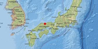 Un sismo de magnitud 6,6 sacude las costas de Japón