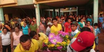 Llanto y dolor en entierro de víctimas de balacera en San Matías