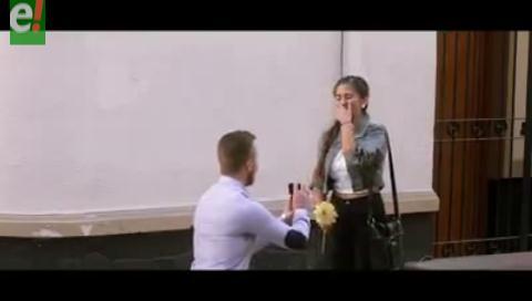 ¿Te casarías conmigo? El video que conmovió a Cochabamba