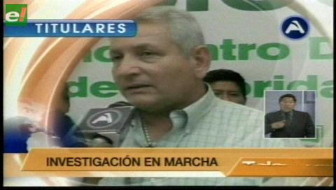 Titulares de TV: Fiscalía acusa formalmente a Rubén Costas por la compra de 40 camionetas