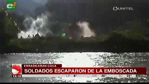 Video: 9 efectivos de erradicación de coca resultaron heridos tras enfrentamiento con cocaleros
