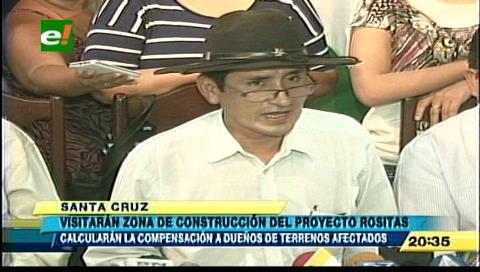 Comisión parlamentaria visitará zona del proyecto Rositas