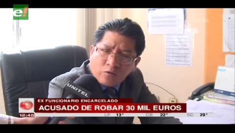 Detienen a ex funcionario del consulado en España por el robo de 30 mil euros