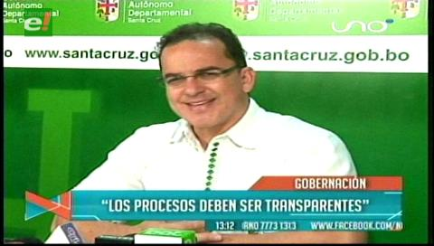 Gobernación cruceña lamenta falta de transparencia del proyecto Viru Viru- Hub