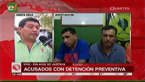 Dictan detención preventiva en Palmasola para atracadores de librecambistas