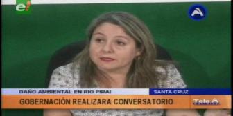 Gobernación cruceña organiza conversatorio para buscar soluciones a la problemática del río Piraí