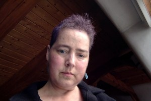Today after shampoo.   It really doesn't last that long.