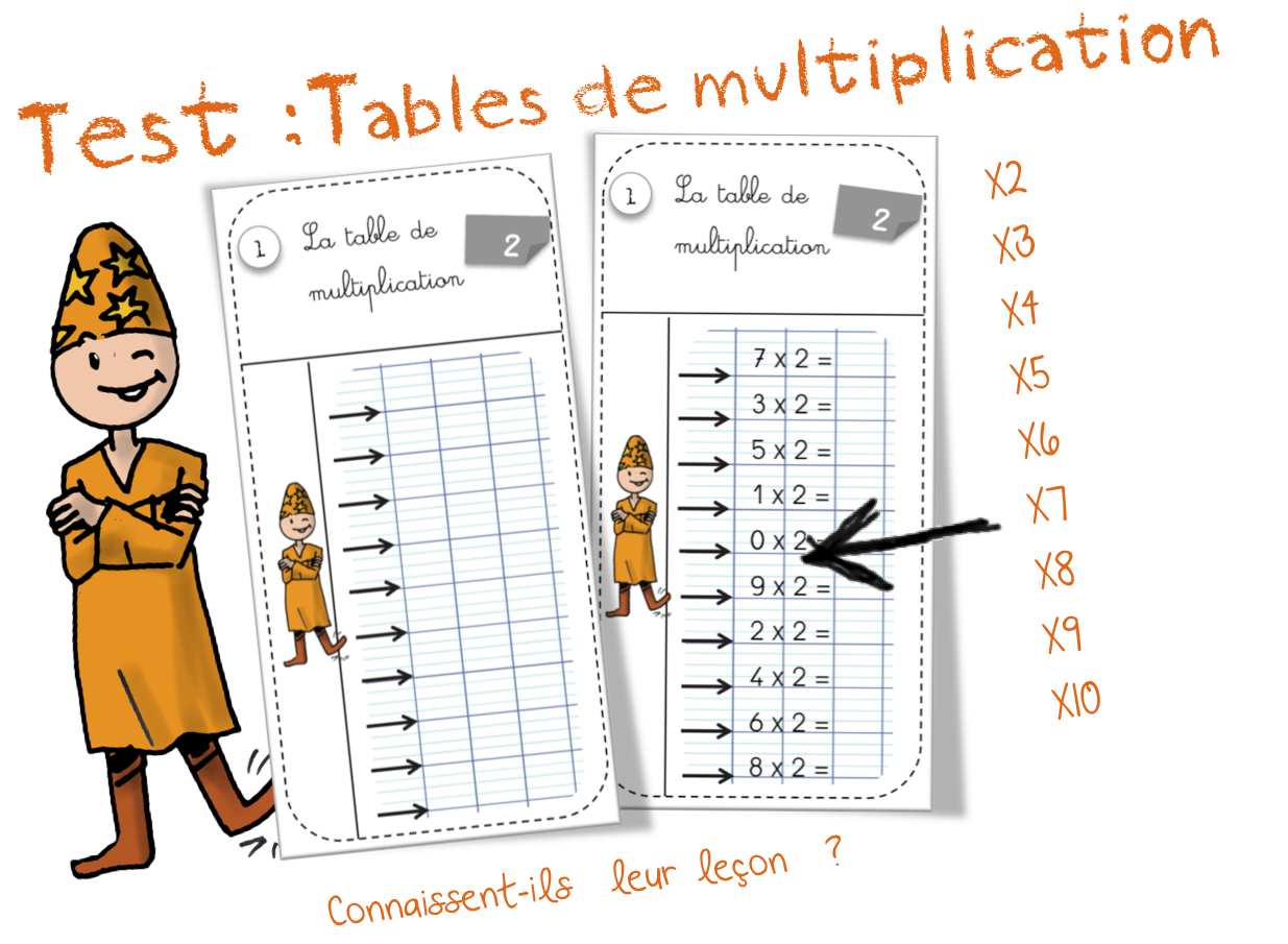 Table 6 Et 7 Tests Tables De Multiplication Bout De Gomme