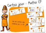 """Cartes """"rituels"""" Maths CP"""