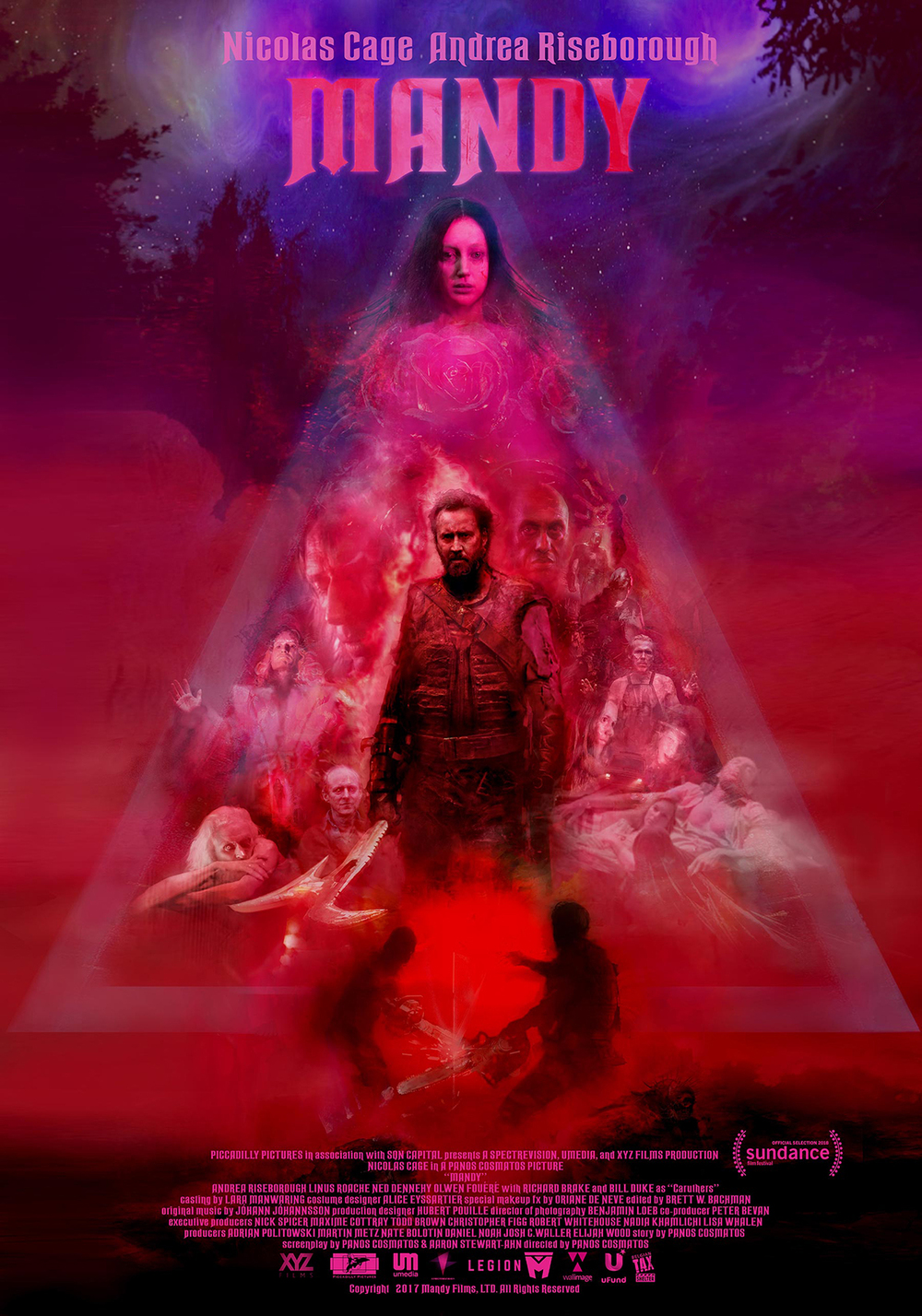 Arte Die Große Fifa Story Mandy 2018 Psychedelic Art House Elements Meet A Sinister Tale