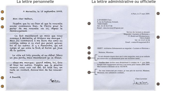 formule de courtoisie lettre administrative