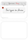 Pochettes pour les étiquettes de la méthode de grammaire Rseeg.