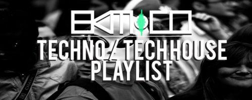 Techno / Tech House music playlist Week 38