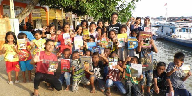TBM Bandae Sebar Budaya Literasi Melalui Book Traveling