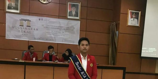 Indra Kurniawan Jadi Direktur Baru ALSA LC Unhas