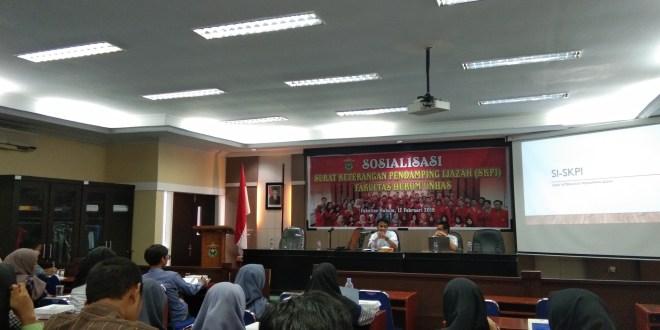 Kemahasiswaan FH-UH Sosialisasikan Mekanisme Penginputan SKPI